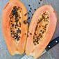 Papaya, Walnut, and Watercress Salad