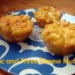 Mac And Three Cheese Muffins