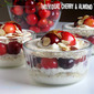 Individual Cherry Almond Trifles