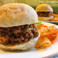 Five Ingredient Sloppy Joe Sandwich - Homemade Sloppy Joe's in 10 minutes
