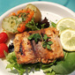 Baked or Grilled Fish with Lime Dill Butter Sauce