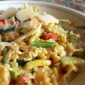 Pasta With Chicken, Pancetta and Summer Vegetables