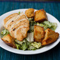 Homemade Croutons and Perfect Sauteed Chicken Breasts