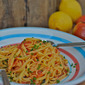 Simple Summer Pasta Sauce: Raw Tomato with Lemon Infused Olive Oil