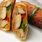 Chicken and Pepper Egg Rolls