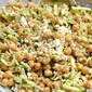 Chickpea Salad with Mint and Feta