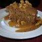 APPLE SPICE CAKE WITH CARAMEL FROSTING