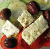 Greek Salad Dressing and Bread Dip