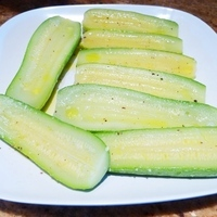Chilled Italian Zucchini Appetizer