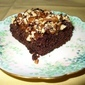 Zucchini Chocolate Cake - Solar Baked! with conventional oven option