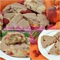 Spiced Peach and Raspberry Scones