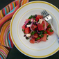 Obsessive watermelon salad