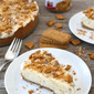 Biscoff Toffee Ice Cream Cake
