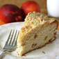 A Midsummer Day's Dream . . . Cream Cheese Nectarine Cake with Crumbly Streusel