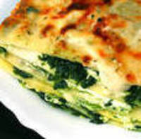 Seriously Easy Lasagne with Spinach