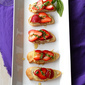 Strawberry, Brie Cheese, Honey & Basil Crostini Recipe
