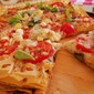 Phyllo Garden Pizza