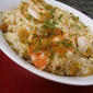 Chicken and Shrimp Scampi Bake