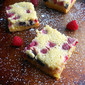 Summer Berry Custard Bars