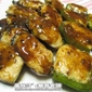 Stuffed Capsicums & Eggplants with Minced Fish (Chinese Dim Sim)