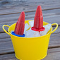 Kids in the Kitchen- Melon-Berry Popsicles