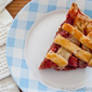 Strawberry Rhubarb Pie for World on a Plate