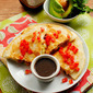 California Quesadillas with Honey-Balsamic Dipping Sauce