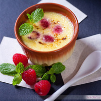 Raspberry Creme Brulee Recipe