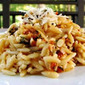 Orzo Salad with Sun-dried Tomatoes and Feta