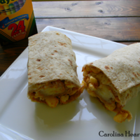 Peanut Butter Breakfast Banana Wrap