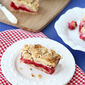 Raspberry Crumb Bar Recipe with Almond Streusel Topping