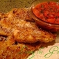 Baked Chicken Strips & Salsa Sauce