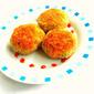 Couscous & Peas Tikki