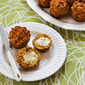 Recipe for Savory Whole Wheat Zucchini Muffins with Feta, Parmesan, and Green Onions (plus 25 more fun ideas for baking with zucchini!)