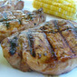 Step Away from the Stove Grilled Teriyaki Boneless Pork Loin Chops