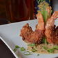 Finger Food Friday: Andouille Crusted Jumbo Louisiana Shrimp with Brown Butter Cream Sauce