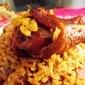 Organic hen rice (Locrio de gallina criolla)