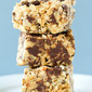 No-Bake Oatmeal-Peanut Butter Chocolate Chip Bars