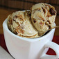 Choffee Chip Chunk Ice Cream . . . (Coffee Ice Cream with Chunks of Milk Chocolate Chip Cookies)