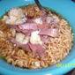 Ramen Gourmet: Roast Beef and Cambozola Noodle Bowl