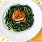 Veal Madeira with Vlita Greens