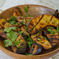 Grilled Fingerling Potatoes with Lime & Cilantro