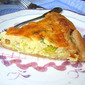 Leek Tart (with my homegrown leeks!)