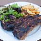 Gas-Grilled Beef Back Ribs