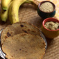 Banana Roti (Flat Bread) with Jaggery and Sesame Seeds – A complete meal in itself