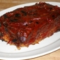 Glazed Pork and Veal Meatloaf