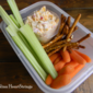 Pimento Cheese and Vegetable Sticks