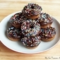 Baked Mini Chocolate Donuts