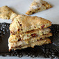 Candied Bacon and Gouda Scones