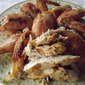 There's More Than One Way to Roast a Chicken! ~ Roasted Chicken with Corn Bread Fritters ~